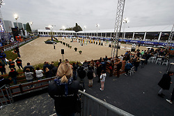 Overview arena<br /> Ponies Knock-out<br /> Jumping Antwerpen 2017<br /> © Hippo Foto - Dirk Caremans<br /> 21/04/2017