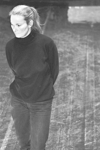 Nederland, Amsterdam, 15-10-1988In 1976 richt ze haar eigen dansgroep op: Dansgroep Krisztina de Châtel. Dit gezelschap blijft bestaan tot 31 december 2008. Van 1 december 2009 tot en met 31 december 2012 is zij een van de artistieke leiders van Dansgroep Amsterdam. Na het stopzetten van de subsidie aan dit gezelschap gaat zij sinds januari 2013 door onder de naam De Châtel sur place. Foto: Flip Franssen