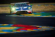 June 13-18, 2017. 24 hours of Le Mans. 66 Ford Chip Ganassi Racing, Ford GT, Stefan Mucke, Olivier Pla, Billy Johnson