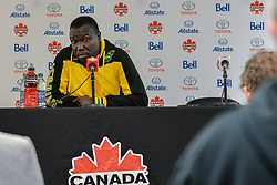 September 3, 2017 - Toronto, Ontario, Canada - Jamaica Soccer Men's National Team Head Coach Theodore Whitmore during press conference after the Canada-Jamaica Men's International Friendly match at BMO Field in Toronto, Canada on 2 September 2017. (Credit Image: © Anatoliy Cherkasov/NurPhoto via ZUMA Press)