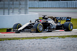 February 19, 2019 - Montmelo, Barcelona, Catalonia, Spain - Barcelona-Catalunya Circuit, Montmelo, Catalonia, Spain - 19/02/2018: Pietro Fittipaldi of Rich Energy Haas F1 Team during second journey of F1 Test Days in Montmelo circuit. (Credit Image: © Javier MartíNez De La Puente/SOPA Images via ZUMA Wire)