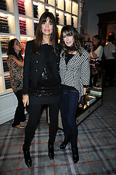 Left to right, LISA B and GELA NASH-TAYLOR at the Juicy Couture children's tea party in aid of Mothers 4 Children held at the Juicy Couture Store, Bruton Street, London on2nd December 2009.