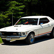 1970 Ford Mustang GT. This is a rare Mexican built car