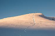 Balkan Mountain in winter