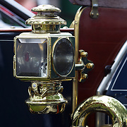 Fixtures on a Hupmobile Model 20 at the Greenwich Concours d'Elegance Festival of Speed and Style featuring great classic vintage cars. Roger Sherman Baldwin Park, Greenwich, Connecticut, USA.  2nd June 2012. Photo Tim Clayton