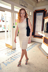 LILY COLE at a special screening of Time Bandits by Terry Gilliam hosted by Faber-Castell and GQ magazine held at The Electric Cinema, 191 Portobello Road, London W11 on 29th June 2009.