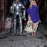 NLD/Volendam/20081221 - Housewarming feest Jan Smit en partner Yolanthe Cabau van Kasbergen, gasten