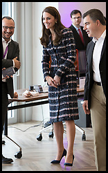 October 14, 2016 - Manchester, United Kingdom - Image licensed to i-Images Picture Agency. 14/10/2016. Manchester, United Kingdom. The Duchess of Cambridge at the National Graphene Institute in Manchester. Picture by Stephen Lock / i-Images (Credit Image: © Stephen Lock/i-Images via ZUMA Wire)