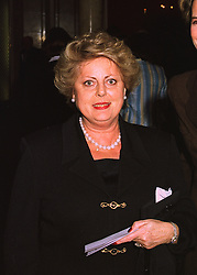 SHAUNA, LADY GOSLING former wife of Sir Donald Gosling, at a fashion show on 7th April 1998.MGO 36 WOLO