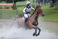 COOLEY EARL ridden by Georgie Strang taking part in the Equitrek CCI*** cross country on day three of the Bramham International Horse Trials 2017 at Bramham Park, Bramham, United Kingdom on 11 June 2017. Photo by Mark P Doherty.