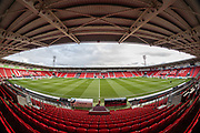 A general view of Keepmoat Stadium ahead of the EFL Sky Bet League 1 match between Doncaster Rovers and Accrington Stanley at the Keepmoat Stadium, Doncaster, England on 21 December 2019.