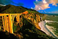 Bixby Bridge, near Big Sur, Monterey County, California