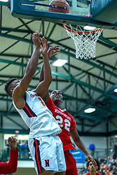 26 December 2019: State Farm Holiday Classic Coed Basketball Tournament , Normal-Bloomington Illinois<br /> <br /> North Chicago Warhawks v Normal Community Ironmen boys basketball