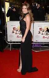 Zara Holland arriving at the UK Premiere of Mum's List, Curzon Cinema, London.<br /> Photo credit should read: Doug Peters/EMPICS Entertainment