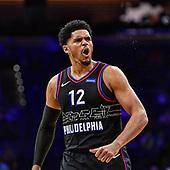 March 16, 2021 (PA): NBA New York Knicks v Philadelphia 76ers Game