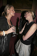OLIVIA KEMP AND EMMA BLAKE, Literary Review's Bad Sex In Fiction Prize.  In & Out Club (The Naval & Military Club), 4 St James's Square, London, SW1, 29 November 2006. <br />