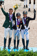 Prizegiving Individual Eventing - Tryon 2018