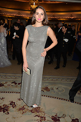 GENEVIEVE GAUNT at the 26th Cartier Racing Awards held at The Dorchester, Park Lane, London on 8th November 2016.
