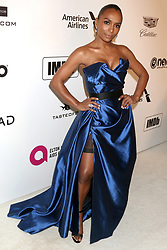 February 24, 2019 - West Hollywood, CA, USA - LOS ANGELES - FEB 24:  Janet Mock at the Elton John Oscar Viewing Party on the West Hollywood Park on February 24, 2019 in West Hollywood, CA (Credit Image: © Kay Blake/ZUMA Wire)