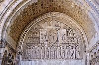 France, Lot (46), Cahors, la cathédrale Saint-Etienne, inscrite au Patrimoine Mondial de l'UNESCO vallée du Lot, Quercy // France, Lot (46), Cahors, Saint-Etienne cathedral, listed as World Heritage by UNESCO Lot valley, Quercy