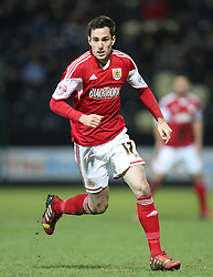 Bristol City's Greg Cunningham - Photo mandatory by-line: Matt Bunn/JMP - Tel: Mobile: 07966 386802 21/12/2013 - SPORT - FOOTBALL - Meadow Lane - Nottingham - Notts County v Bristol City - Sky Bet League One