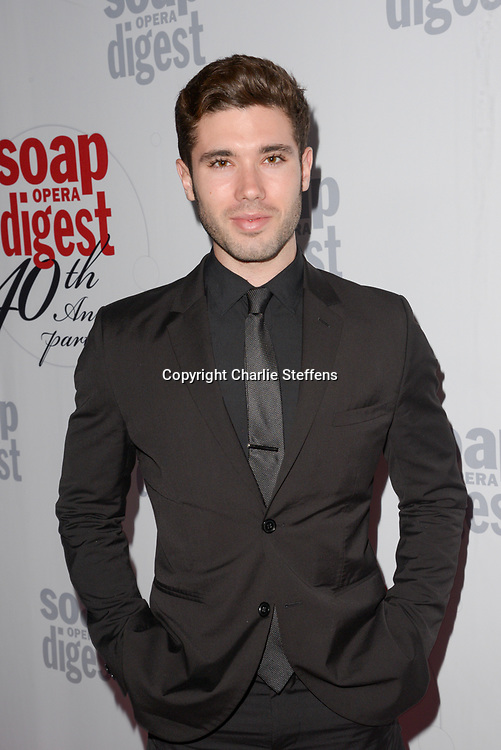 KRISTOS ANDREWS at Soap Opera Digest's 40th Anniversary party at The Argyle Hollywood in Los Angeles, California
