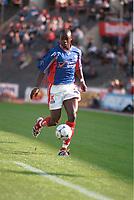 Mamadou Diallo, Vålerenga. Vålerenga - Odd 2-1, Tippeligaen, 12. september 1999. (Foto: Peter Tubaas)