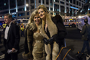 MAUREEN RUSSELL; DIANE LAWARE, Commander Ball, Inauguration of Donald Trump and demonstrators and various entrances,  Washington DC. 20  January 2017