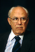 Robert Strauss, lawyer and diplomat November 22, 1996 in Washington, DC.