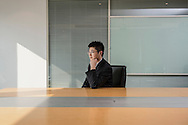 China / Shanghai <br /> <br /> Sun Lu , 29 years old working at Satori Investments. Portrait in office space<br /> <br /> © Daniele Mattioli Shanghai China Corporate and Industrial Photographer  for the Australian Magazine