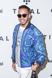 Lewis Hamilton attends TIDAL X: Brooklyn at Barclays Center of Brooklyn on October 17, 2017 in New York City. (Photo by Joe Russo / imageSPACE).