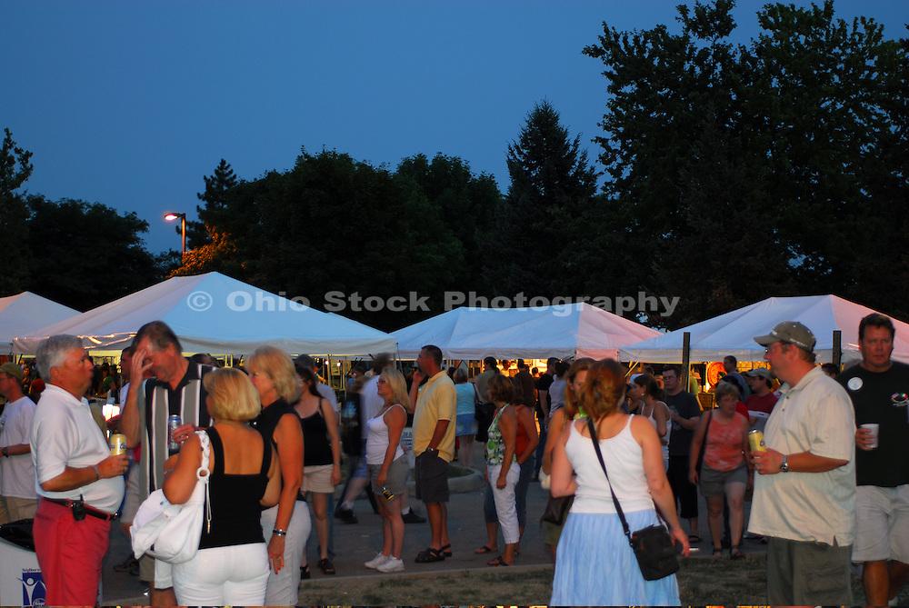 Photo of the Dublin Irish Festival in Dublin, Ohio.