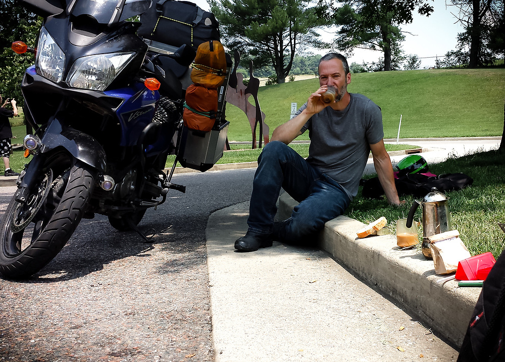 Coffee break in Pennsylvannia