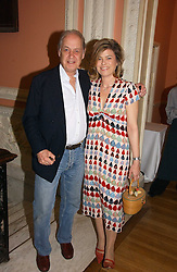 SIR JOHN & LADY LEON he is actor John Standing and she is Sarah Forbes daughter of Brian Forbes and Nanette Newman at a party to celebrate the publication of 'A Much Married Man' by Nicholas Coleridge held at the ESU, Dartmouth House,  37 Charles Street, London W1 on 4th May 2006.<br />