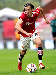 Manchester United's Alvaro Fernandez during the UEFA Youth League, Group F match at Leigh Sports Village, Manchester. Picture date: Wednesday September 29, 2021.