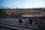Dirt track car racing at I-44 Speedway in SW OKC