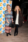 CAROLINE GOODALL; MARYAM D'ABO,  BIRDS EYE VIEW INTERNATIONAL WOMEN'S DAY  RECEPTION, BFI Southbank. London. 8 March 2012.