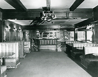 1979 Interior of Chasen's Restaurant on Beverly Blvd. in West Hollywood