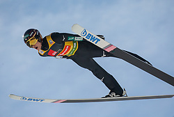 Ryoyu Kobayashi (JPN) soaring through the air during the Trial Round of the Ski Flying Hill Individual Competition at Day 2 of FIS Ski Jumping World Cup Final 2019, on March 22, 2019 in Planica, Slovenia. Photo by Vid Ponikvar / Sportida