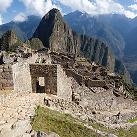 The main gate is the only one entrance to access the Machu Picchu complex.