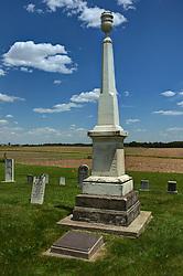 Hittle Grove Cemetery near Armington in Tazwell County.