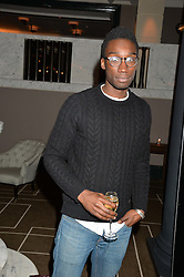 NATHAM STEWART at the Old Vic 24 Hour Plays Celebrity Gala held at the Rosewood Hotel, 252 High Holborn, London on 24th November 2013.