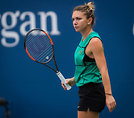 Simona Halep of Romania practices, at the 2018 US Open Grand Slam tennis tournament, New York, USA, August 24th 2018, Photo Rob Prange / SpainProSportsImages / DPPI / ProSportsImages / DPPI