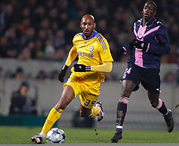 Fotball<br /> Frankrike<br /> Foto: DPPI/Digitalsport<br /> NORWAY ONLY<br /> <br /> FOOTBALL - CHAMPIONS LEAGUE 2008/2009 - GROUP STAGE - GROUP A - 26/11/2008 - GIRONDINS BORDEAUX v CHELSEA FC - NICOLAS ANELKA  (CHA) / SOULEYMANE DIAWARA (BOR)