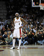 Ben Wallace of Cleveland during a game against visiting Memphis.