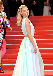 Elsa Hosk attending A Hidden Life Premiere, during the 72nd Cannes Film Festival. Photo credit should read: Doug Peters/EMPICS