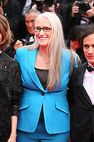 Director Jane Campion at the the Grace of Monaco gala screening and opening ceremony red carpet at the 67th Cannes Film Festival France. Wednesday 14th May 2014 in Cannes Film Festival, France.
