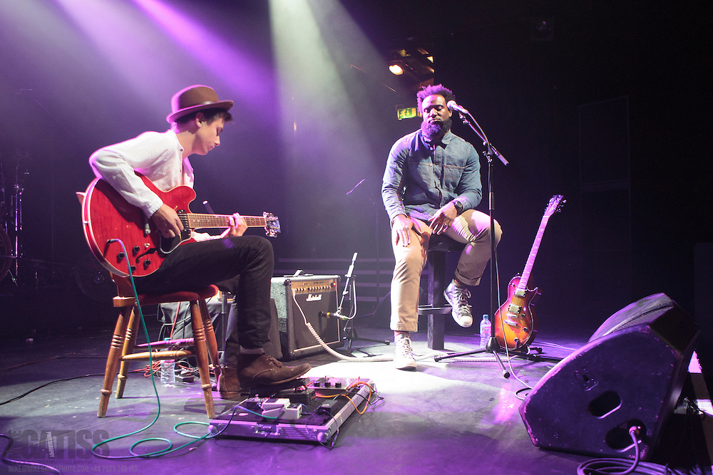Olivier St Louis performing live with Patrick K Amos at Koko, Camden, 2013-10-01