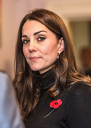 November 4, 2016 - Gloucester, United Kingdom - Image licensed to i-Images Picture Agency. 04/11/2016. Gloucester , United Kingdom. The Duchess of Cambridge  during a visit to the Nelson Trust Women's Centre in Gloucester, United Kingdom. Picture by ROTA  / i-Images  UK OUT FOR 28 DAYS (Credit Image: © Rota/i-Images via ZUMA Wire)