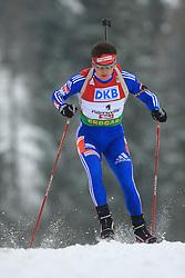 Maxim Maksimov (RUS) at Men 20 km Individual at E.ON Ruhrgas IBU World Cup Biathlon in Hochfilzen (replacement Pokljuka), on December 18, 2008, in Hochfilzen, Austria. (Photo by Vid Ponikvar / Sportida)